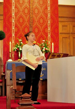 Cedar Lutheran Church Childrens' Play, Christmas 2011