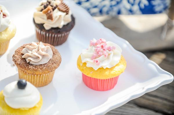 Blue Crab Cupcakes