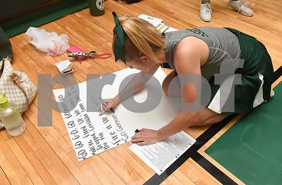8/5/16 Bishop Thomas K. Gorman Cheerleading Practice by Sarah A. Miller
