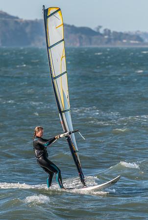 Crissy Fields Kite Surfers