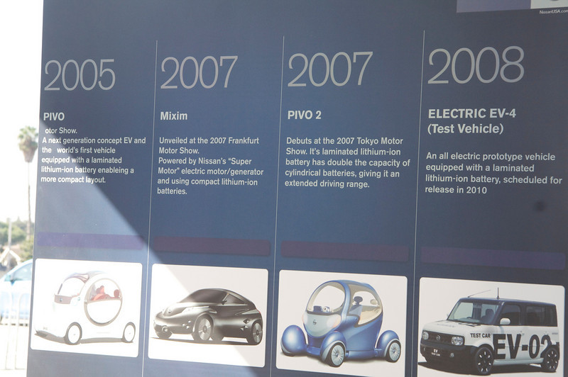 Nissan's history with battery-powered vehicles.