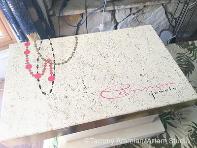 Cannon Jewels towel set
