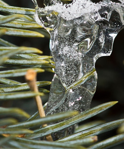 Textures in ice