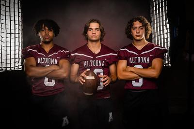 Altoona Football Banner Photo Shoot - Class of 2022