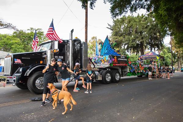2018-10-06 Tustin Tiller Day Parade