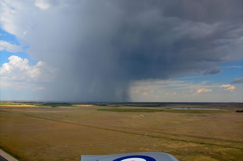 Nasty rain departing Alliance, NE