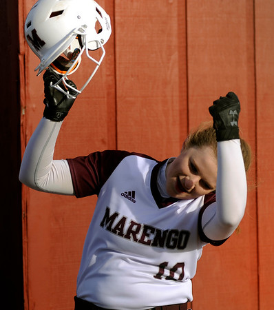 031918 Softball Marengo vs Prairie Ridge (GS)