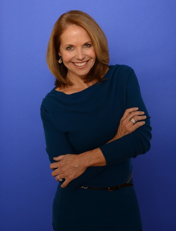 . Executive producer Katie Couric poses for a portrait during the 2014 Sundance Film Festival at the Getty Images Portrait Studio at the Village At The Lift on January 20, 2014 in Park City, Utah.  (Photo by Larry Busacca/Getty Images)