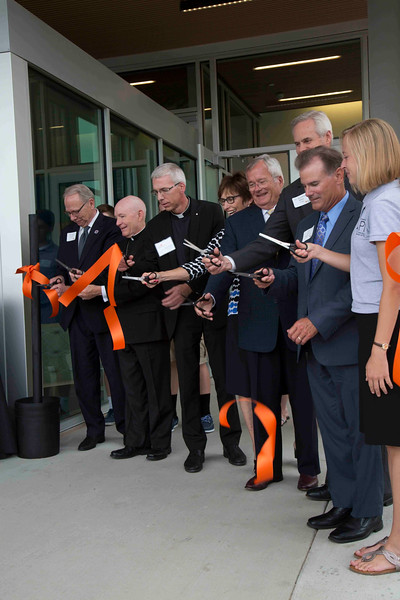 JPII Newman Center Ribbon Cutting Ceremony 2016