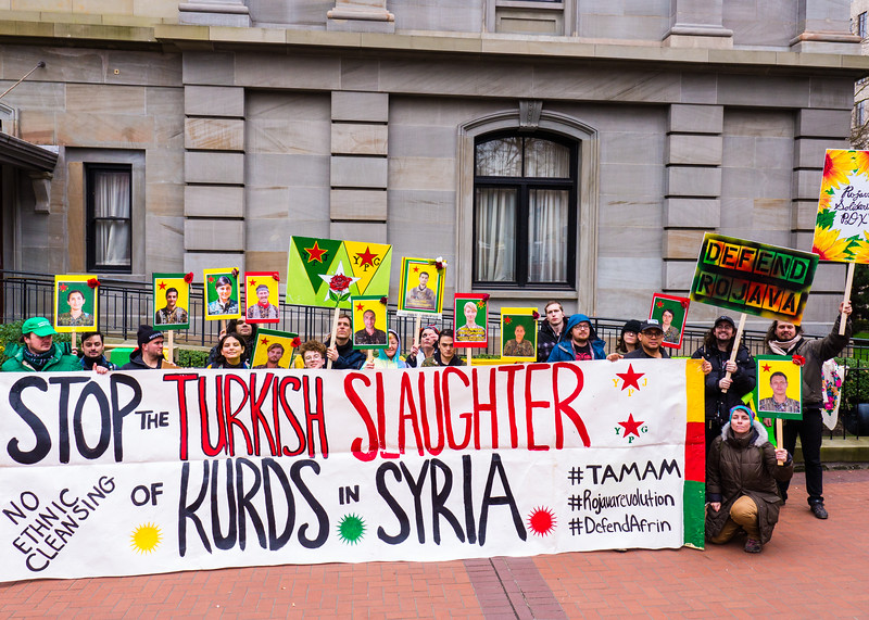 Rojava Solidarity Rally