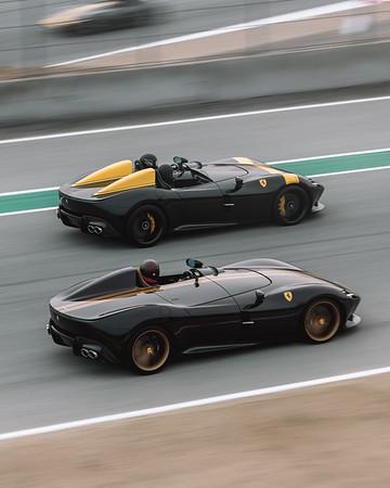 Icona Ferrari at Pebble
