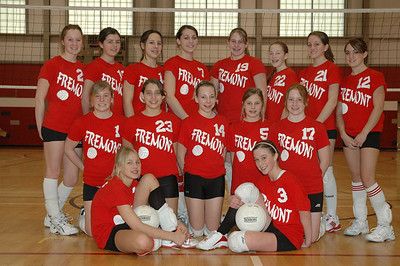 Middle School Girls Volleyball 2005-2006 - Misc. Pictures