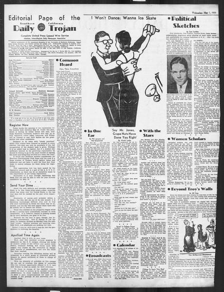 Daily Trojan, Vol. 26, No. 128, May 01, 1935