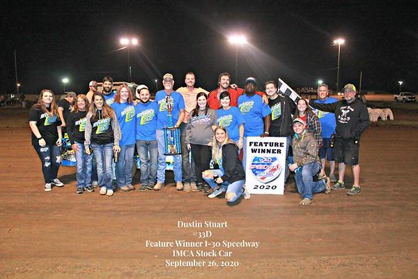 I-30 Speedway September 26, 2020