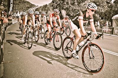 Women's Cycling Criterium at the 2010 Noosa Triathlon Multi Sport Festival. Purchase available. Photos by Des Thureson:  http://disci.smugmug.com