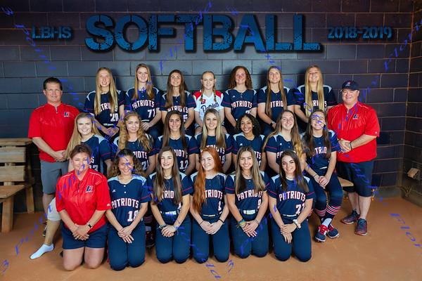 LBHS Varsity Softball Team Photo