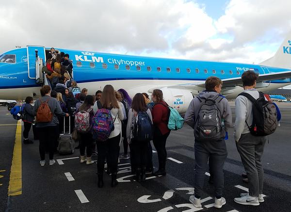 Day 1 & 2 Travel & Glasgow