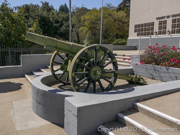 American Legion Post 43 - Hollywood, CA - 15cm Type 4 Howitzer