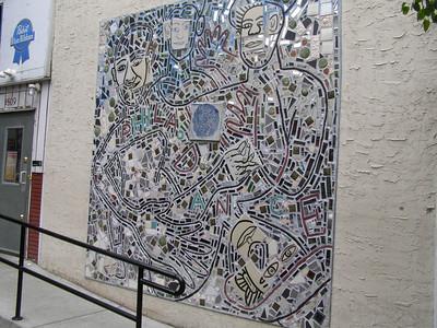 USA: Philadelphia, Isaiah Zagar's mosaics (2009)