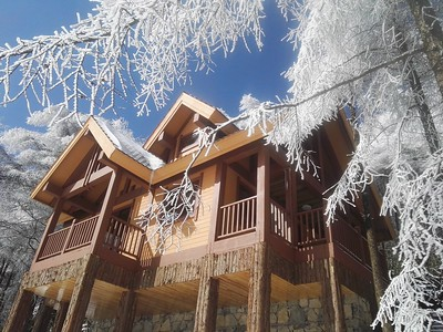 Gaolutang Motor Camping Wood House Resort 高炉淌汽车露营基地