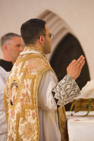 Fr. Henrique A. Fragelli, ICCRSS, 1st Mass at St. Margaret Oakland Apostolate
