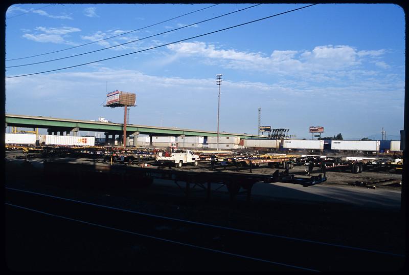 Sites around Union Pacific Intermodal terminals (Trigg off-ramp to Bandini Park)