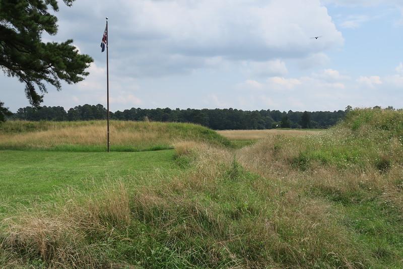 British Inner Defense Line -- September 28-October 19, 1781
