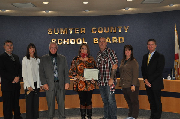 2020 - Recognition of Jim & Amy Price for Bus Stop