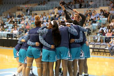 UNCW vs UNC women basketball 17
