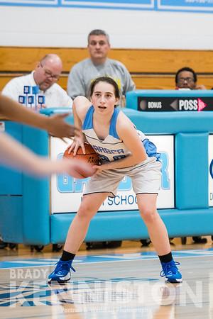 2-14-17 Garber JV Girls Basketball