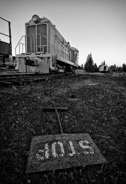 McCloud Railway Rail Yard  McCloud, CA