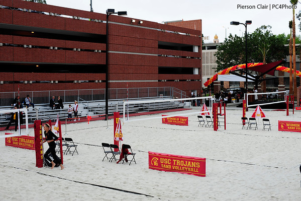USC Women's Sand Volleyball - Merle Norman Stadium Dedication