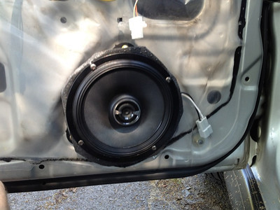 2001 Subaru impreza Front Speaker Installation - USA