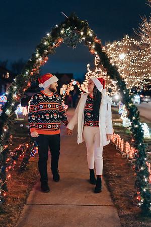 TJ and Mike Christmas