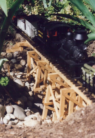 Garden Railroad 1990's