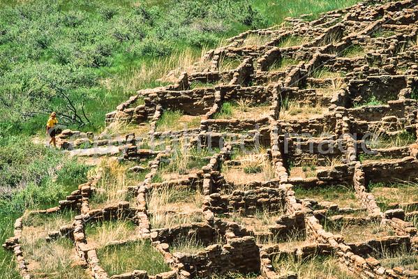 Bandelier National Monument, New Mexico - Scenics, Biking  (in progress)
