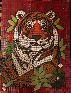 """""""Burning Bright"""" (mosaic) by Robin Brownfield"""