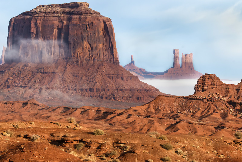 Monument Valley Mists