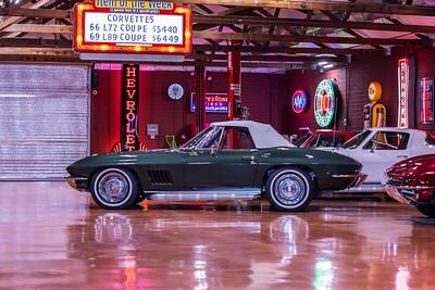 1967 Green Convertible L79