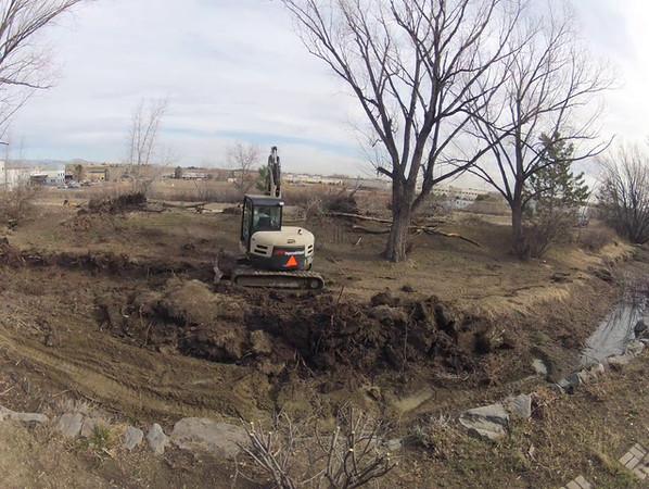 Ditch Work 3/16/12
