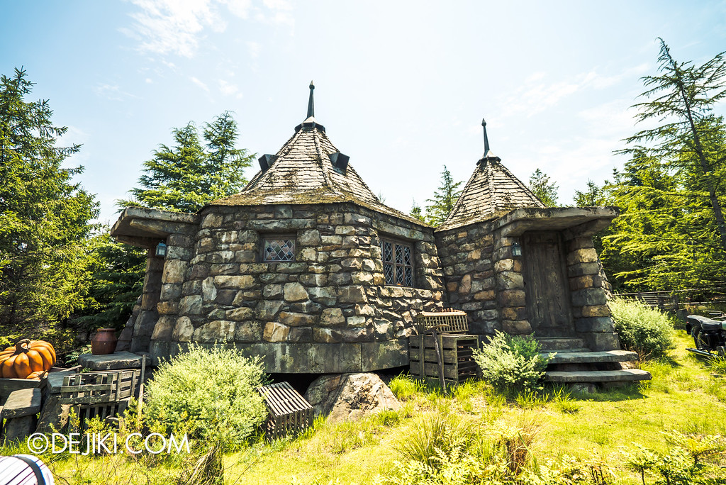 Universal Studios Japan - The Wizarding World of Harry Potter - Flight of the Hippogriff, Hagrid's Hut