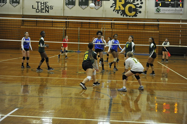RC Girls JV Volley Ball 10/11/2016