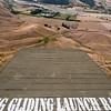 Hang Gliding Launch Ramp off Te Mata Peak