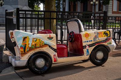 Route 66 Art Car