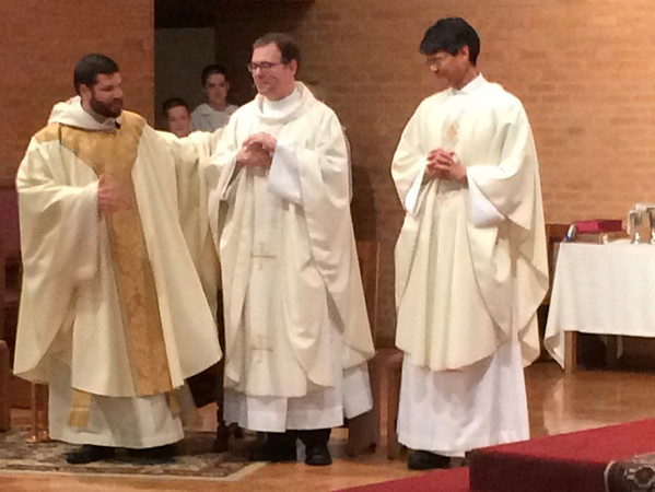 2015.05 Father Gerald Mass and Reception