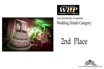 June  2014  WPPP Winning PHotos ~ Top Wedding Photographers in the Philippines