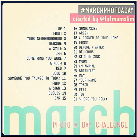 March 2012 Photo-a-Day
