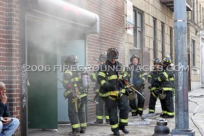 Davidson Ave. Fire (Bronx, NY) 1/17/06