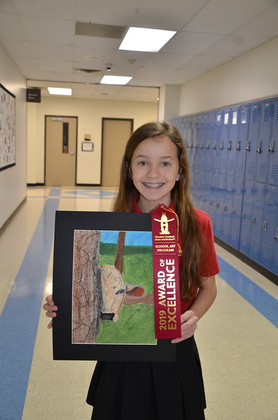 MS HS Rodeo Art winners 2019