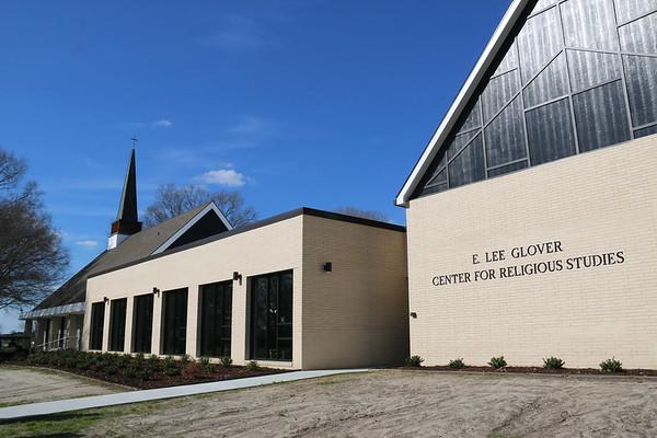 E. Lee Glover Center for Religious Studies Dedication
